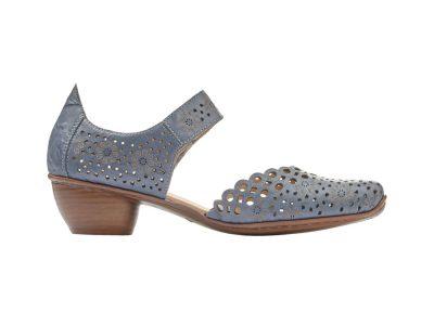Rieker Navy Shoes