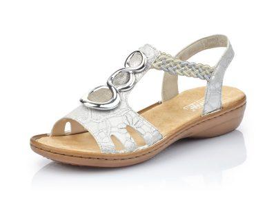 Rieker Silver Sandal