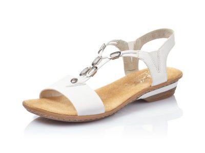 Rieker White Sandal
