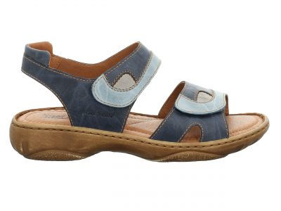 Josef Seibel Blue Combination Sandals