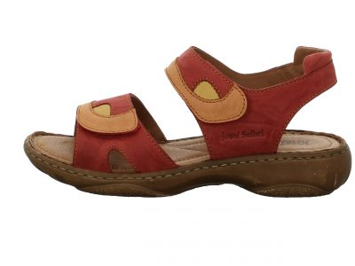 Josef Seibel Red Multi Sandals