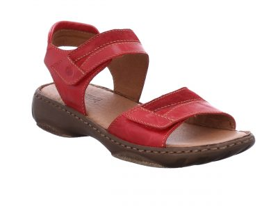 Josef Seibel Red Combo Sandals