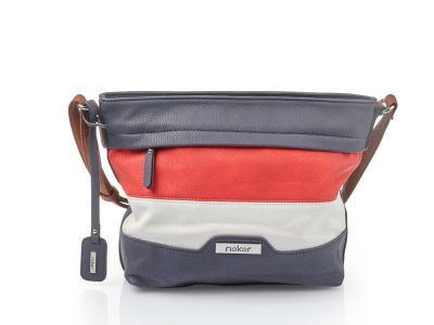 Rieker Blue Red and Navy Bag