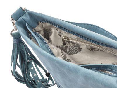 Rieker Blue Crossbody Bag