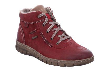 JOSEF SEIBEL Waterproof Maroon Boots