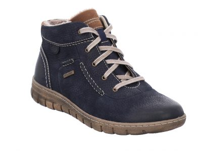 JOSEF SEIBEL WATER PROOF BLUE BOOTS