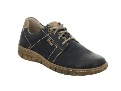 JOSEF SEIBEL Blue Waterproof Lace up Shoes