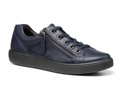 HOTTER Chase Navy Leather
