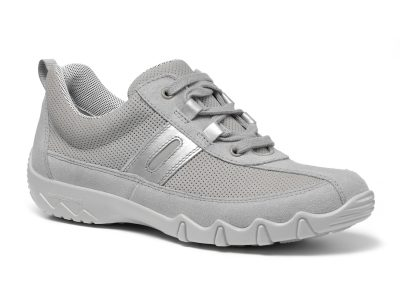 Hotter Leanne Pebble Grey Trainers
