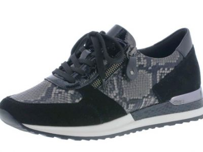 REMONTE Black Print Trainers