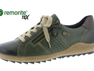 REMONTE Green Lace Shoes