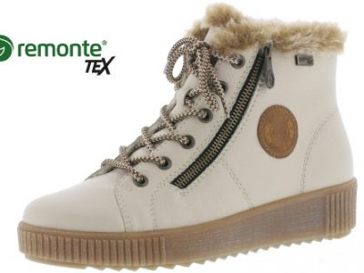 REMONTE Cream/off White Boots
