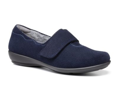 HOTTER Toasty Navy Slippers