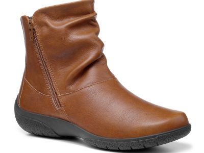 HOTTER Whisper Rich Tan Leather Boots