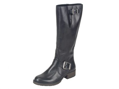 RIEKER Leather Long Boots