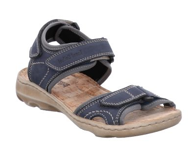 Josef Seibel Lene 01 Blue Walking Sandal