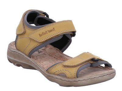 Josef Seibel Lene 01 Yellow Walking Sandal
