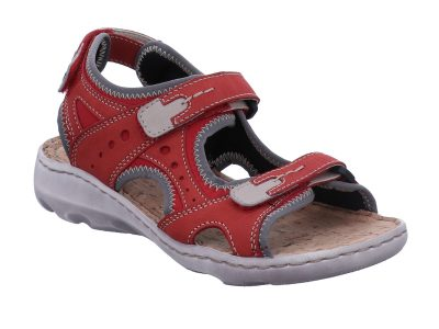 Josef Seibel Lene 02 Red Walking Sandal