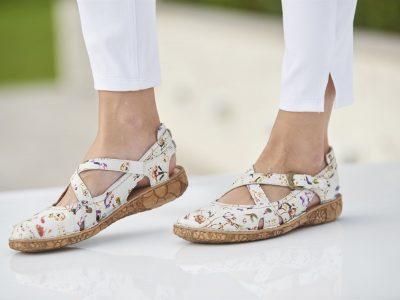 Josef Seibel Rosalie 13 White Multi Shoe